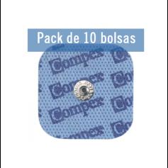 Compex Pack Electrodos SNAP 5 x 5 cm (10 Bolsas) (Musculación