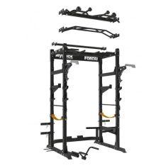 ForceUSA Power Rack Banco Ajustable Completo y accesorios. (Musculación)