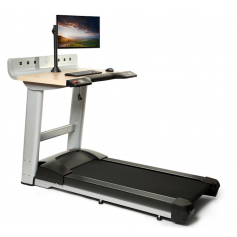 Life Fitness Tapis de Course pour Bureau (Table Incluse)