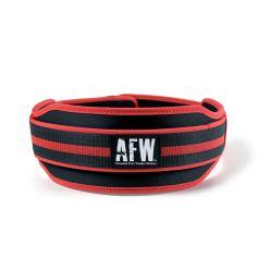 Cinturón entrenamiento neopreno Rojo/Negro - AFW (Acondicionamiento)