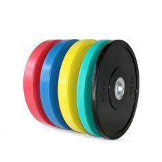 PROWOD Lot de Disques Bumper Promax 5-25 kg (Peso Libre) progym