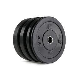 Lote de Discos de Goma Bumper 5-25 kg - 105170/174-2 AFW (Peso Libre)