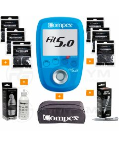 COMPEX FIT 5.0 Wireless + 45€ de Regalos + Envio en 24 Horas (Musculación) progym