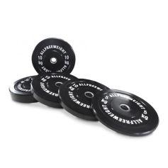 AFW Lot de Disques Olympiques Bumper 5-25 kg (Peso Libre) progym disques bumper professionnels