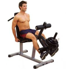 Body Solid Seated Leg Extension & Supine Curl GLCE365 (Musculación)Volver