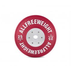 AFW Lot de Disques Bumper Competition Technique 5-25 kg (Discos) progym disques bumper professionnels
