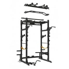 ForceUSA Power Rack Banco Ajustable Completo y accesorios. (Musculación)