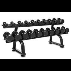 Titanium Strength Haltères 2.5 - 30kgs + Rack