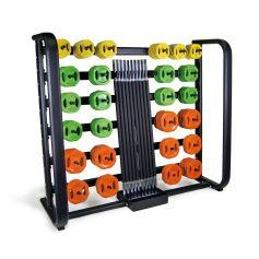 Rack + 25 Set de Pump de goma - PROWOD I progym.es