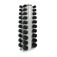 Set de Mancuernas Bodymax 1Kg -10Kg + Rack Vertical